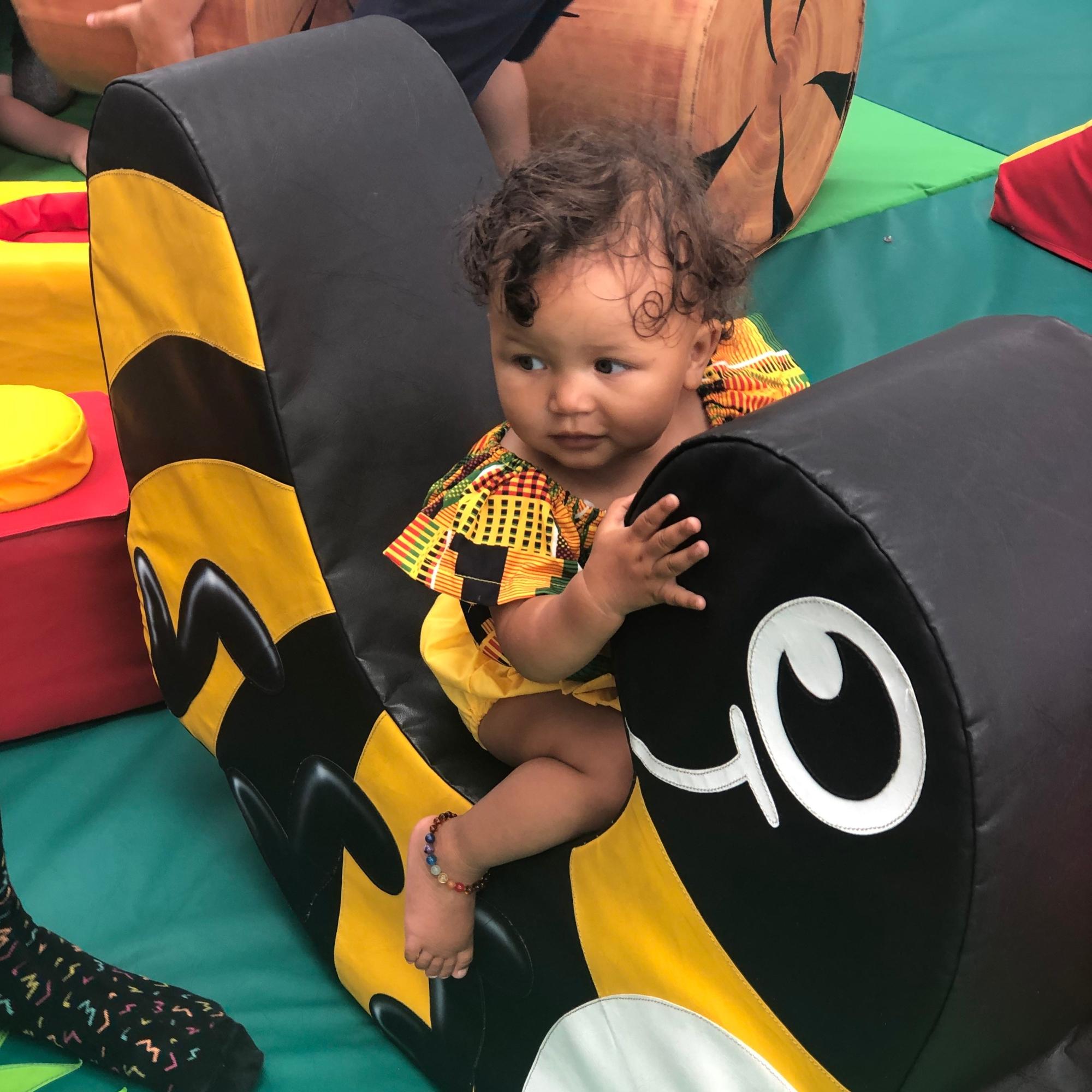 Mixed race baby